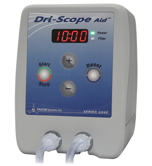 Dri-Scope Aid® Automates the Drying of the Internal Channels of Endoscopes