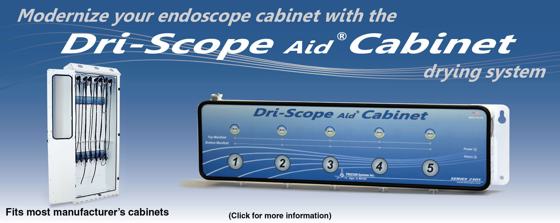 Dri-Scope Aid Cabinet Drying System
