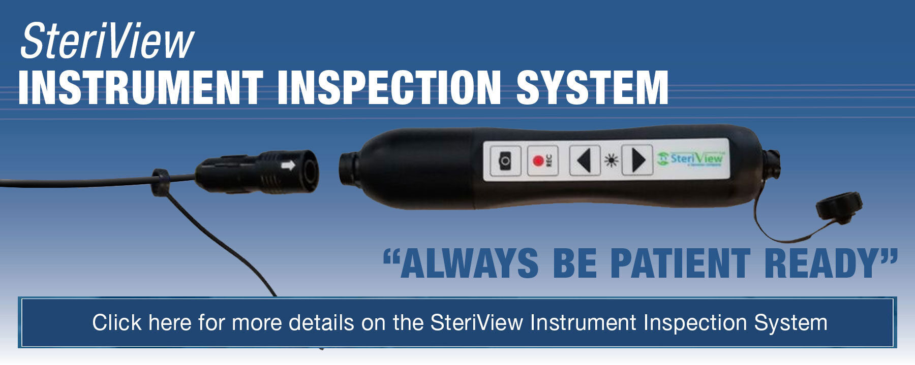 Steriview Instrument Inspection System